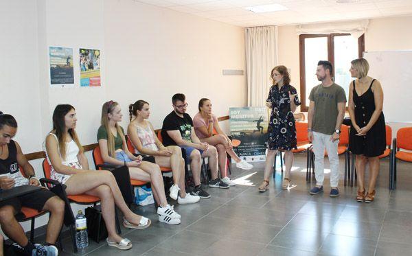 Los alumnos del curso 'Soy Monitor' finalizan la fase teórica