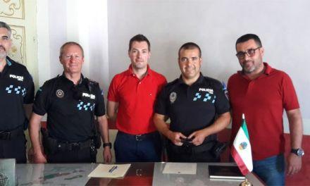Juan Pascual López toma posesión como funcionario en prácticas de la plaza de cabo de la Policía Local de Cehegín