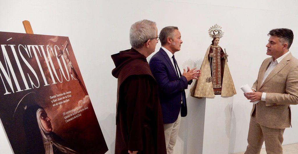 Una talla de la Virgen del Carmen atribuida a Francisco Salzillo y propiedad del Convento del Santo Ángel de Sevilla se exhibirá en 'Místicos'