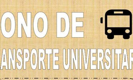 Los bonos de transporte universitario para el curso 18-19 ya se pueden adquirir al precio de 85 euros para 20 viajes