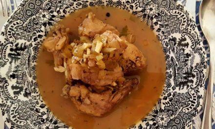 LEPUS CONDIMENTUM POSCA  (Conejo en salsa de posca)