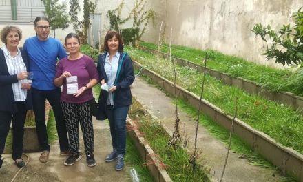 Ciudadanos impulsa los huertos escolares de la comarca del río Mula repartiendo semillas en una docena de centros