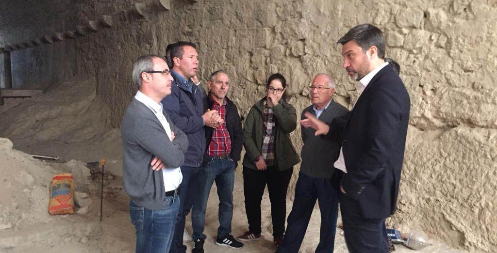 """Joaquín López: """"Cualquier Gobierno regional que esté preocupado por el patrimonio histórico no abandonaría el Castillo de Mula"""""""