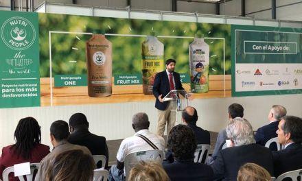 Inaugurada en Calasparra las nuevas instalaciones de la empresa Nutripeople Reel Innovation, S.L, la primera factoría que emplea excedentes para la creación de nuevos alimentos