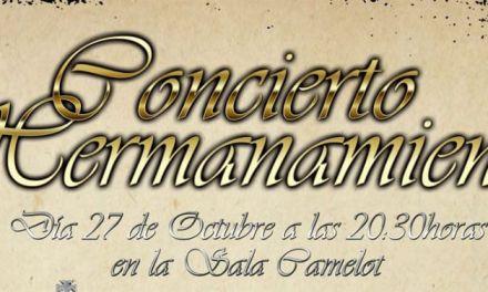 La banda Pasión y Dolor ofrece un Concierto de Hermanamiento con la prestigiosa 'Presentación al Pueblo' sevillana