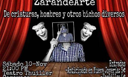 """ZarandeArte trae a Caravaca """"De criaturas, hombres y otros bichos diversos"""""""