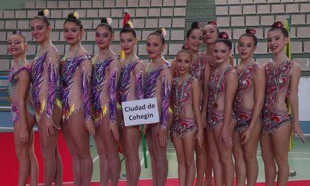El Club Gimnasia Rítmica Ciudad de Cehegín se clasifica para el Campeonato de España de Conjuntos 2018