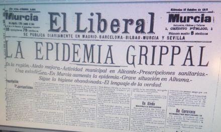 La gripe de 1918 en Caravaca