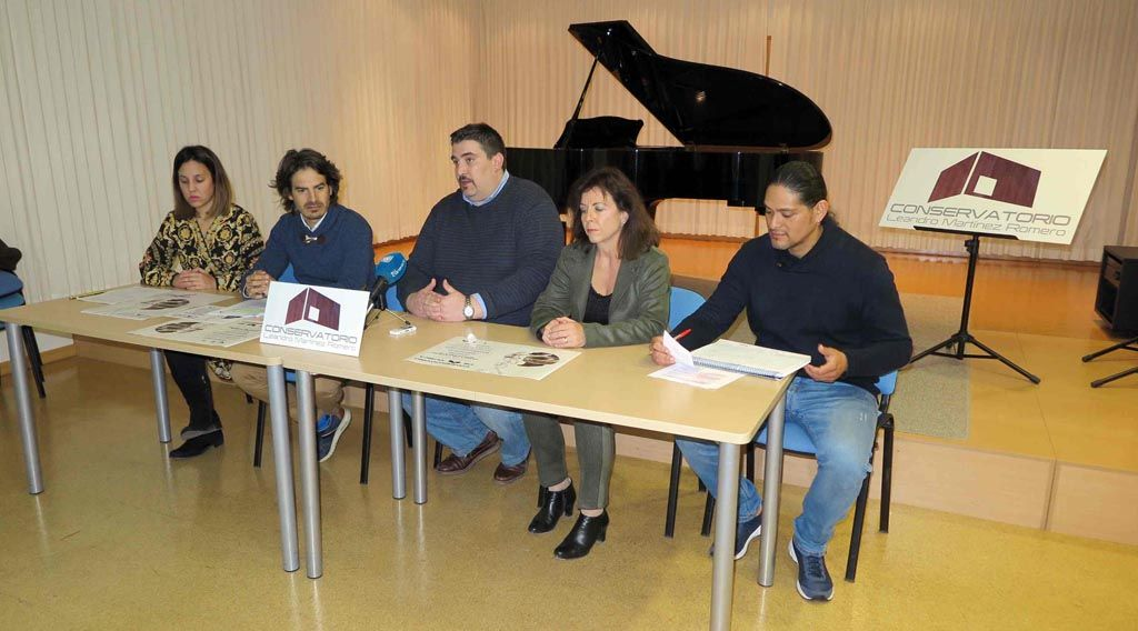 El Conservatorio de Caravaca conmemora Santa Cecilia con un ciclo de conciertos, clases magistrales y conferencias