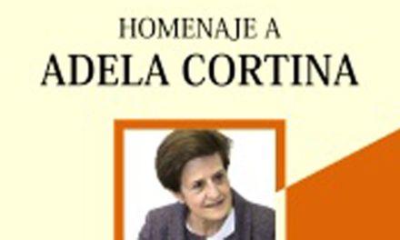 «Ética y filosofía política», el libro homenaje a Adela Cortina