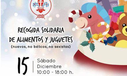 El Grupo Scout 'Cueva Negra' de Caravaca organiza el sábado 15 de diciembre una campaña solidaria de recogida de alimentos y juguetes