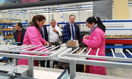 Inauguradas las nuevas instalaciones de la empresa de calzado Capiccio en Caravaca de la Cruz