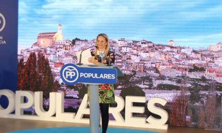 Alicia del Amor Galo presenta el programa electoral del PP de Cehegín