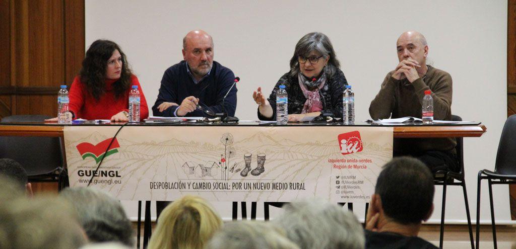 IU-Verdes insiste en la necesidad de implementar medidas urgentes para frenar la despoblación en la Región de Murcia