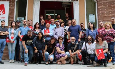 IU-Verdes anuncia que se prepara para las elecciones autonómicas ante el bloqueo de Podemos a las negociaciones