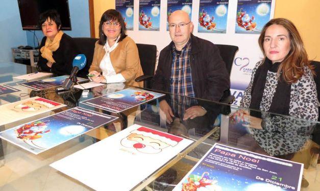 La suelta de farolillos solidarios y el encuentro con Papá Noel se celebran en Caravaca el próximo viernes, 21 de diciembre