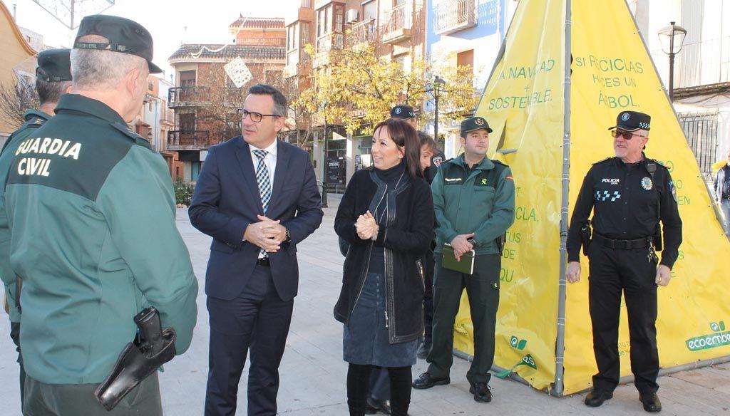 El Delegado del Gobierno en Murcia preside la Junta Local de Seguridad de Bullas