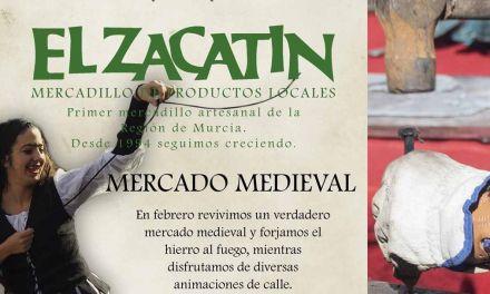 El Zacatín revive la Edad Media en el primer domingo de Febrero