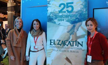 El Zacatín y el Museo del Vino se promocionan en Fitur