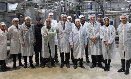 El Secretario General de Industria y PYMES visita las empresas de Bullas Palancares y Mensajero