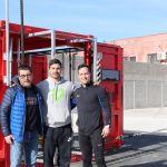 La Concejalía de Deportes pone en marcha una nueva actividad con un gimnasio portátil para practicar deporte al aire libre