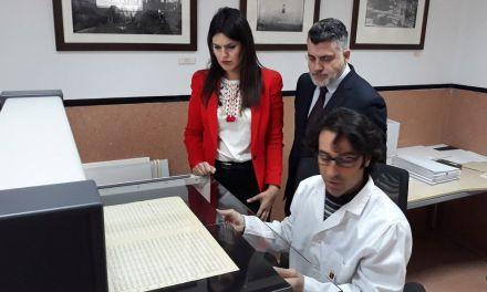 El Archivo General de la Región trabaja en la digitalización de 5.000 documentos de sus fondos musicales