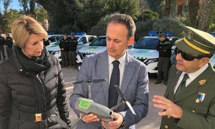 Los agentes medioambientales contarán con siete nuevos vehículos y un dron para labores de seguimiento y vigilancia contra incendios