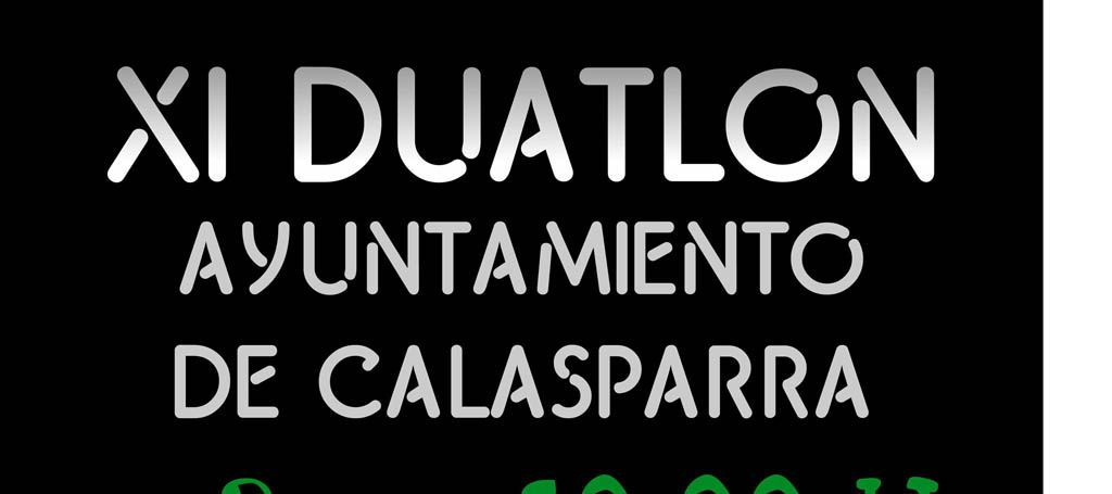 El XI Duatlón de Calasparra se disputa el 3 de febrero