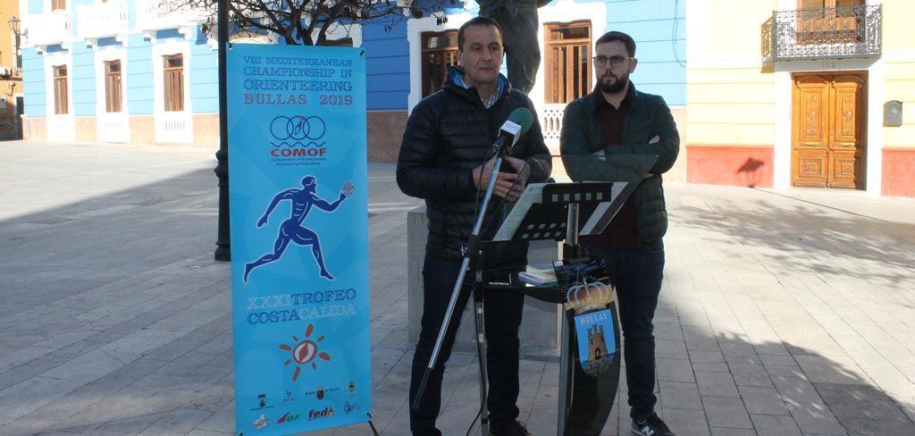 Bullas acoge del 21 al 24 de febrero el Trofeo Internacional de Orientación Costa Cálida y la Copa Mediterráneo de Orientación
