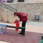 La Concejalía de Parques y Jardines acondiciona y renueva el parque de la Iglesia del Barrio San Antonio