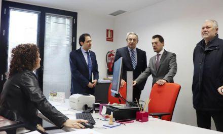 Inaugurada la nueva oficina de la Agencia Tributaria de la Región de Murcia en Cehegín