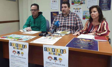 Caravaca celebra las actividades de Carnaval el sábado 2 de marzo