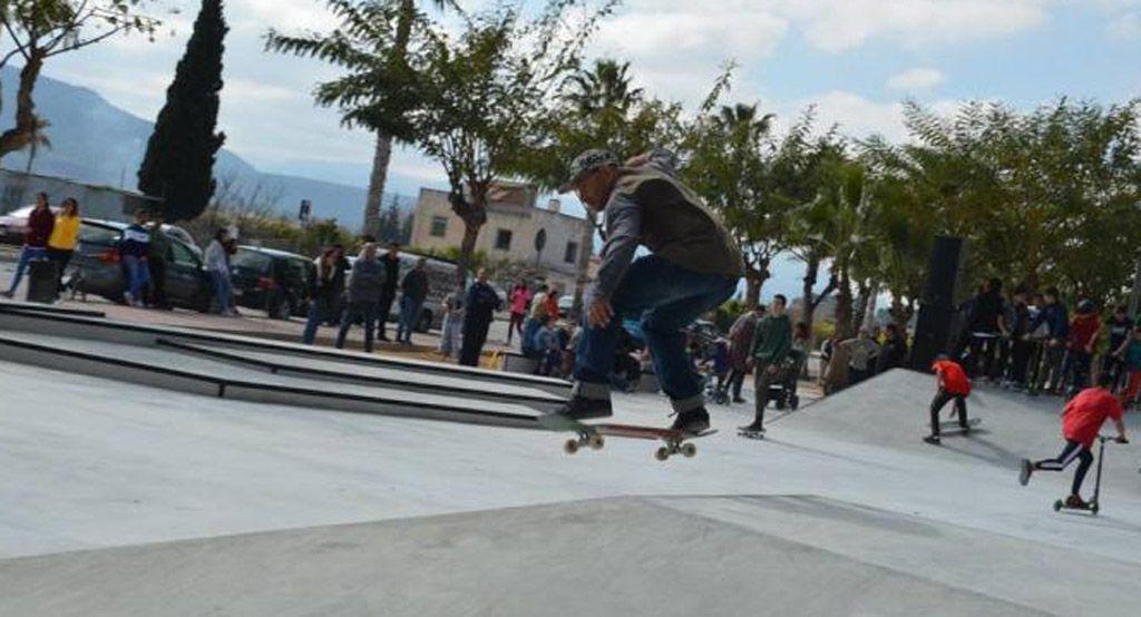 Mula ya cuenta con una pista de skate