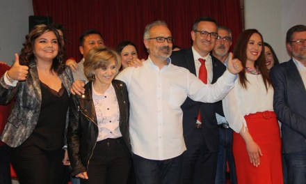 La ministra de Sanidad respalda a Pepe Moreno a la reelección como Alcalde de Caravaca de la Cruz