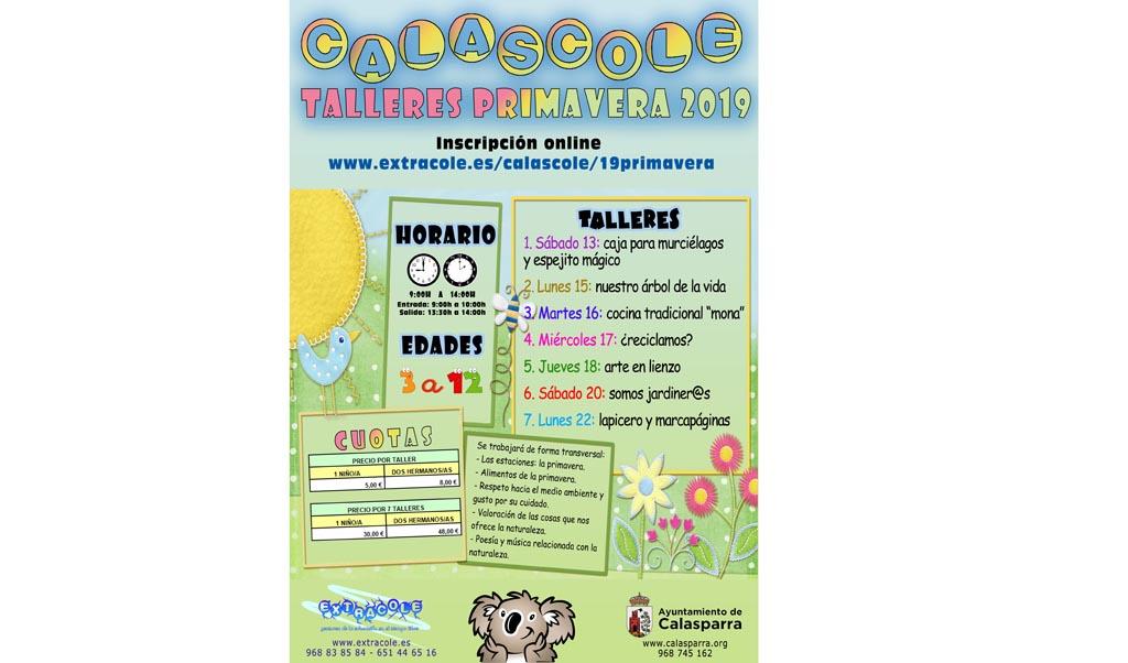 Escuela de Primavera CALASCOLE en Calasparra