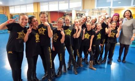 El grupo caravaqueño de baile 'Crazy to dance' participa en la final nacional del concurso europeo Dancing Start 'Vive tu sueño'