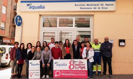 Aqualia reivindica en Caravaca de la Cruz la igualdad de género