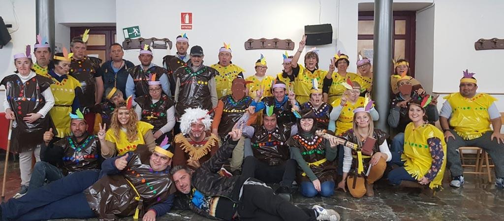 AFEMNOR celebra una fiesta de Carnaval ambientada en tierras apaches