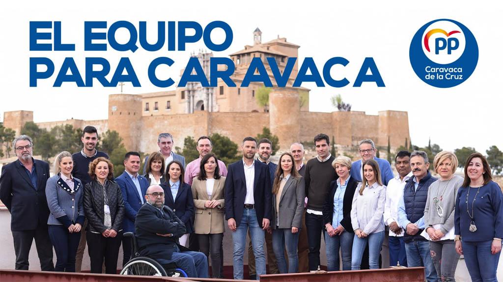"""José Francisco García: """"Aquí hay proyecto. Hay ilusión y ganas. Presentamos un equipo reflejo de la Caravaca que suma y avanza"""""""
