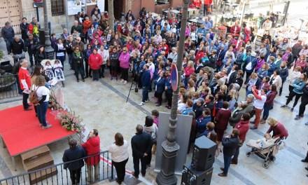 Más de 300 personas participan en la IV Marcha 'Súmate' del 'Día de la Mujer'