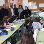 El Ayuntamiento de Caravaca amplía el colegio de Navares con la construcción de un aula