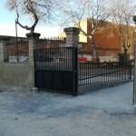 Renuevan en Bullas el patio de las Escuelas Viejas