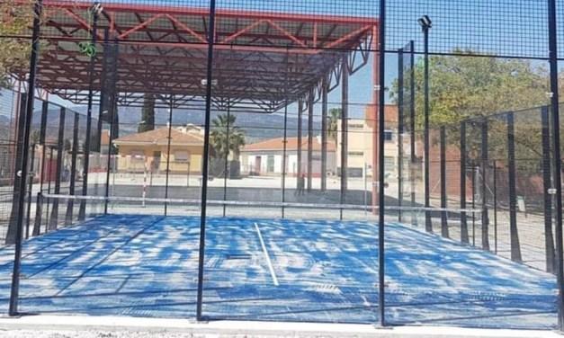 Abiertas en Campos del Río las nuevas pistas de skate y pádel