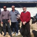 Los regantes de Aledo visitan las nuevas instalaciones de Pliego