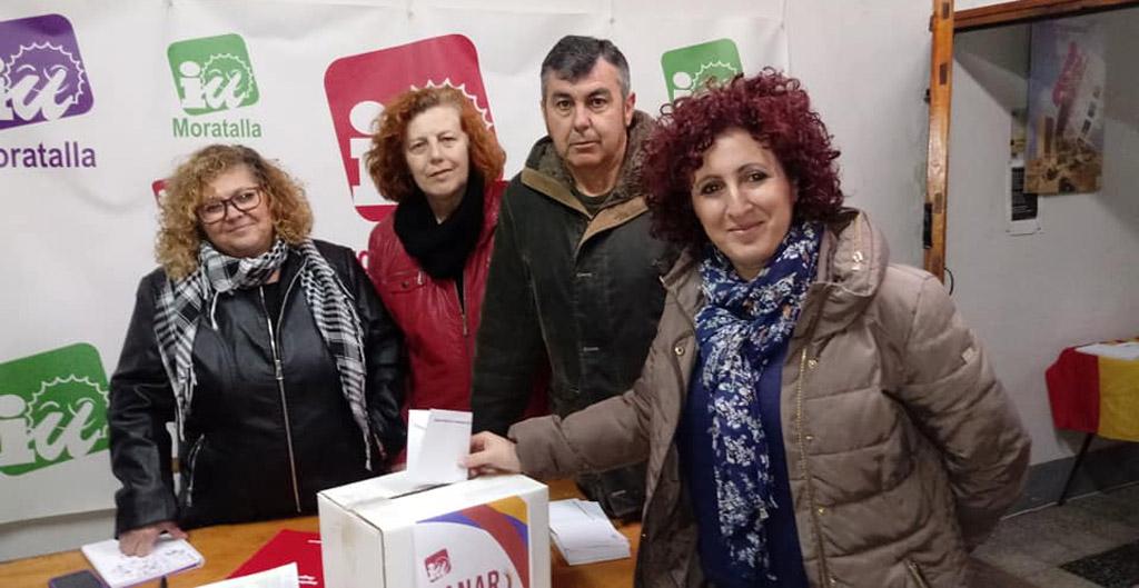 Candi Marín, elegida con más del 85% de los votos como candidata de Ganar Moratalla-IU