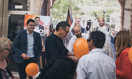 José Carlos Gómez, candidato de Ciudadanos a la Alcaldía de Caravaca