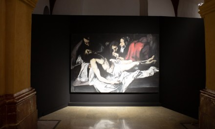 El pintor Santiago Ydáñez expone 'Deus ex machina' en Caravaca de la Cruz