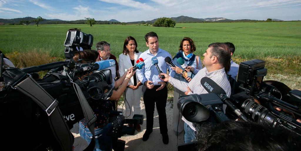 El candidato popular Teodoro García participa en Bullas en un acto de apoyo al mundo rural