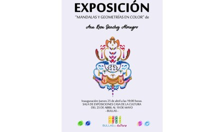 """Ana Rosa Sánchez Almagro inaugura este jueves en Bullas la exposición: """"Mandalas y Geometrías en Color"""""""