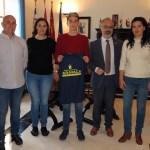 El alcalde y la edil de Deportes reciben al caravaqueño Ángel Ruiz Oliver, joven promesa de la Natación con un gran palmarés